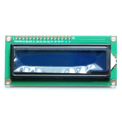 1602 Character LCD Display Module Blue Back