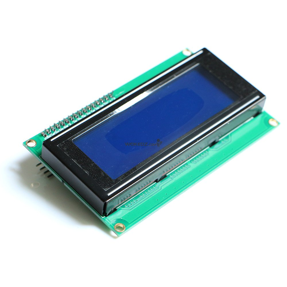 Iic I2c 2004 204 20 X 4 Character Lcd Display Module Blue Shenzhen Contrast Control For Lcds The Is A Line Not Only Set Knob Selector Switch Also Has Backlight And