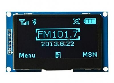 "2.42"" 12864 Blue OLED Display Module FOR"