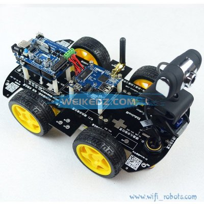 Wifi Smart Car Robot Kit for arduino iOS Vi