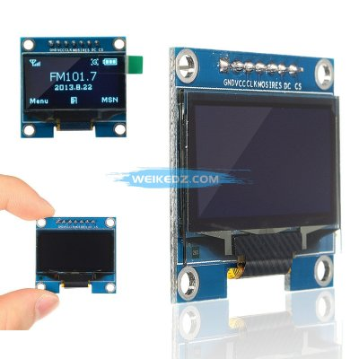1.3 Inch 128x64 SPI Serial OLED LCD Display