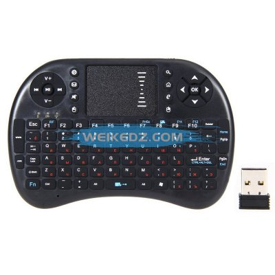 94 keys 2.4G RF Rii mini i8+ Wireless Keybo